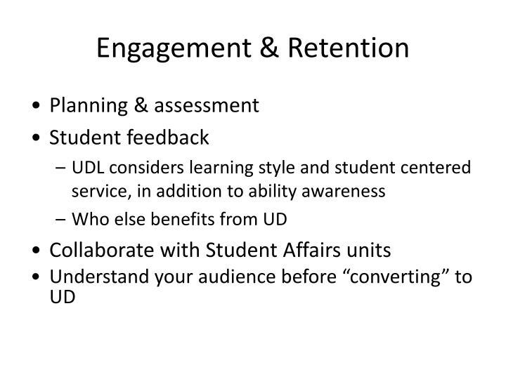 Engagement & Retention