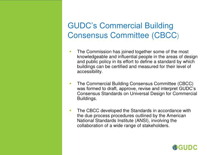 GUDC's Commercial Building