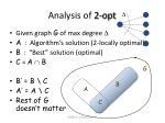 analysis of 2 opt