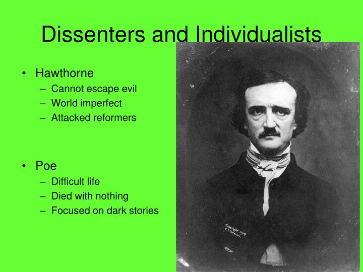 Dissenters and Individualists