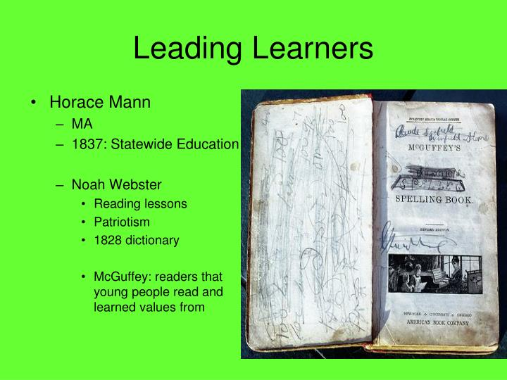 Leading Learners