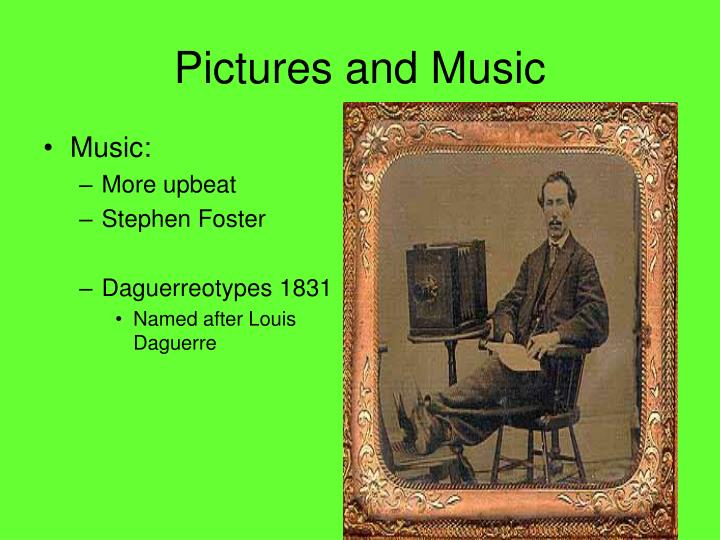 Pictures and Music