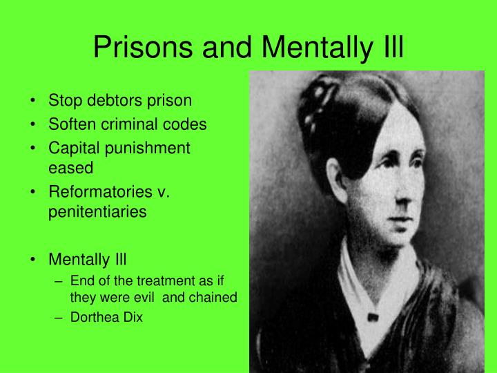 Prisons and Mentally Ill