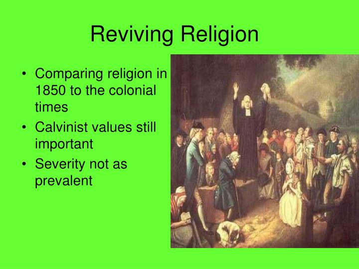 Reviving religion