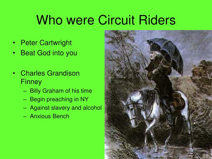 Who were Circuit Riders