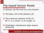 flip based sensor model