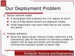 our deployment problem