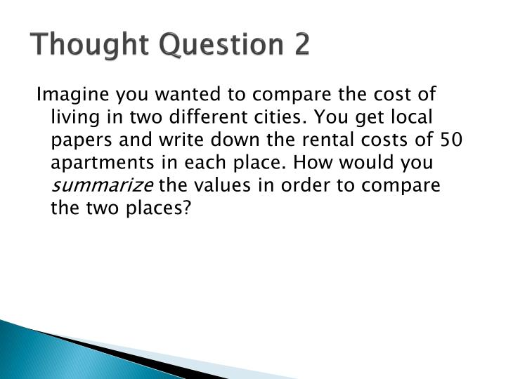 Thought Question 2