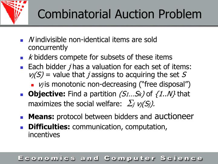 Combinatorial Auction Problem