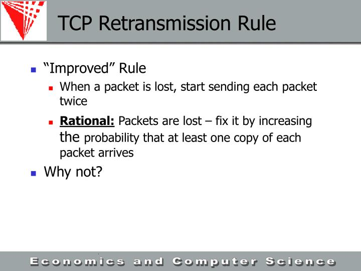 TCP Retransmission Rule
