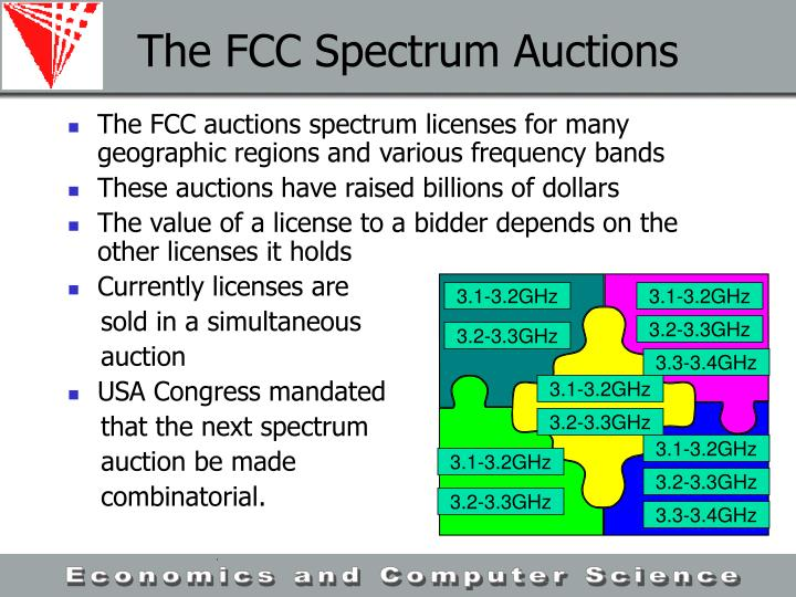The FCC Spectrum Auctions