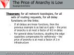 the price of anarchy is low roughgarden tardos