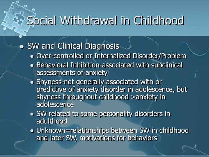 social withdrawal This woman is not alone - the feelings of social isolation and loneliness are some  of the most common themes i see in my psychotherapy.