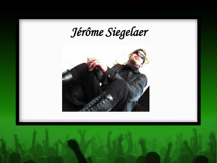 Jérôme Siegelaer