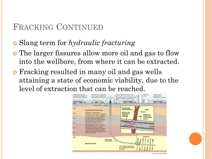 Fracking Continued