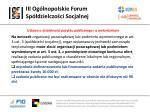 iii og lnopolskie forum sp dzielczo ci socjalnej10