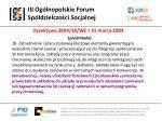 iii og lnopolskie forum sp dzielczo ci socjalnej15