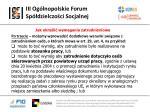 iii og lnopolskie forum sp dzielczo ci socjalnej25