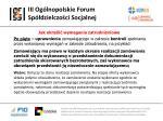 iii og lnopolskie forum sp dzielczo ci socjalnej28