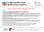iii og lnopolskie forum sp dzielczo ci socjalnej5