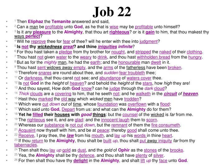Job 22