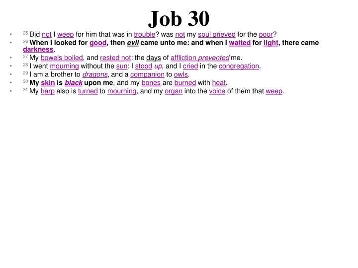 Job 30