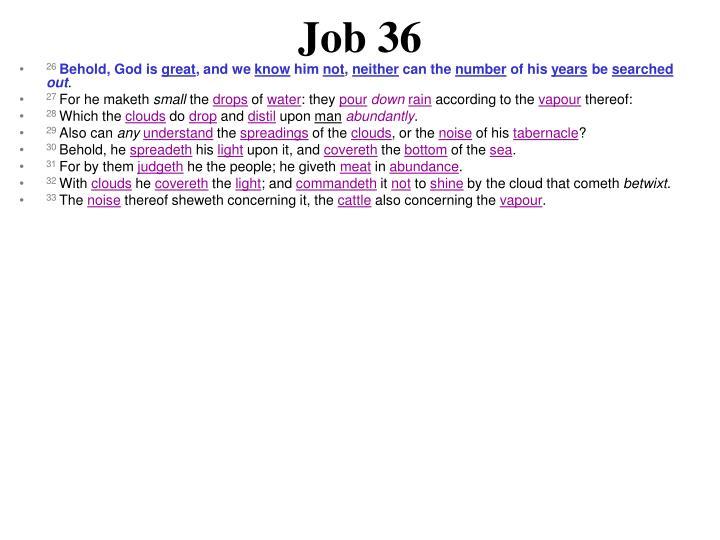 Job 36