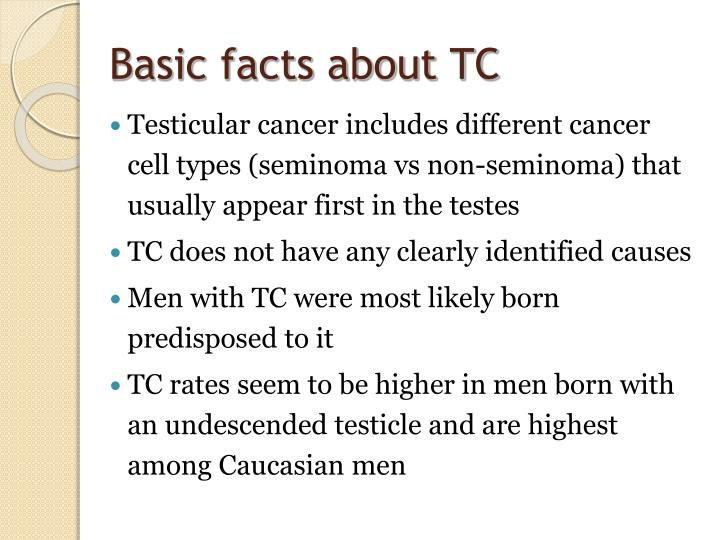 Basic facts about TC
