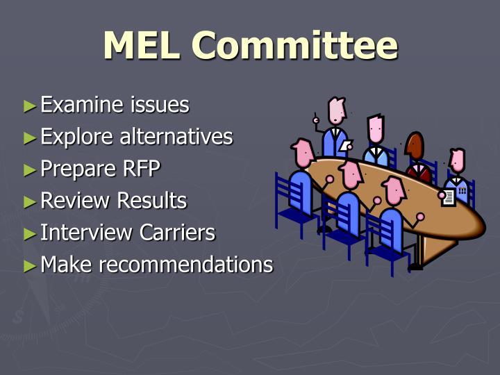 MEL Committee