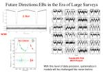 future directions ebs in the era of large surveys