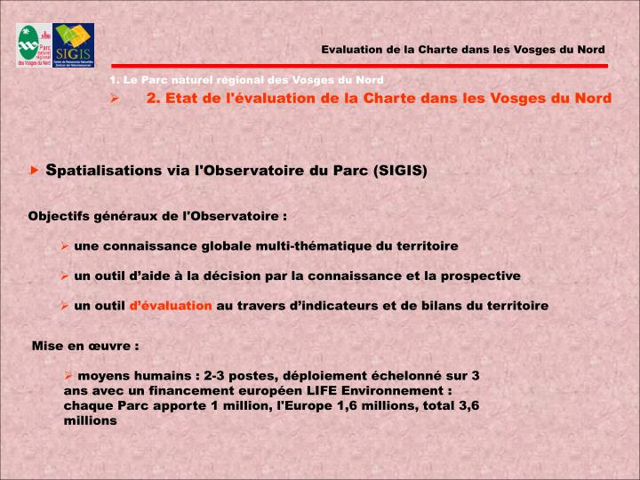 Evaluation de la Charte dans les Vosges du Nord