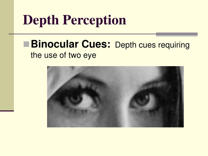 Depth Perception