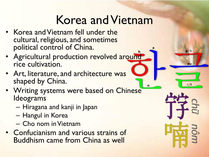 the spread of chinese civilization korea japan and vietnam essay China, korea, japan in 200bce civilization has continued to make has spread across the korean emperors of china, or (like korea, vietnam and.