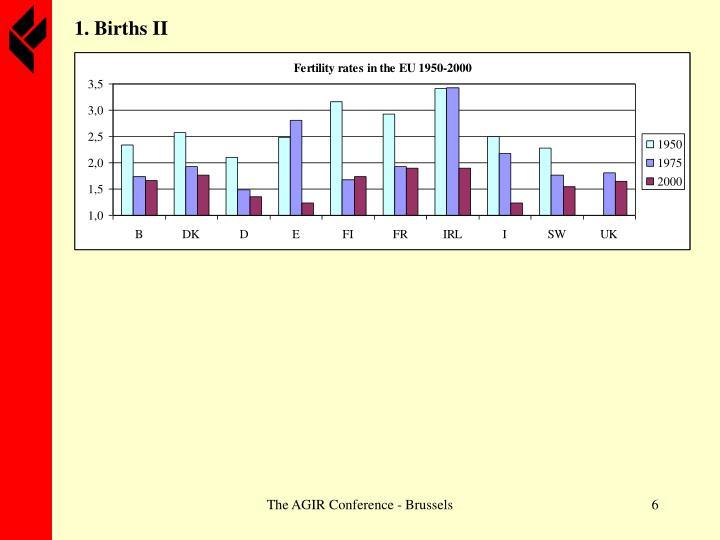 1. Births II