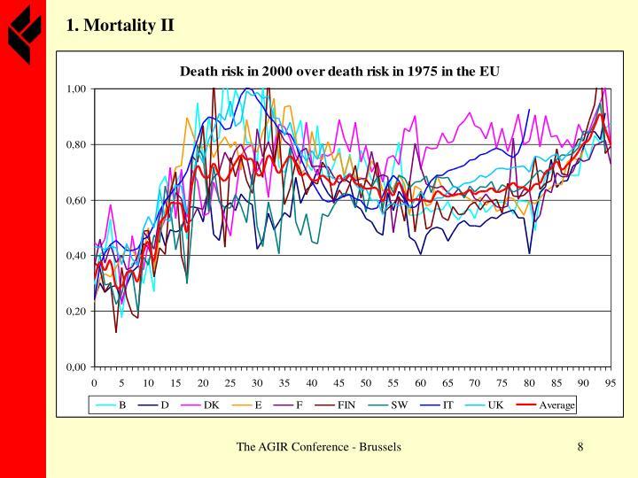 1. Mortality II