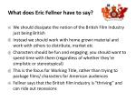 what does eric fellner have to say2