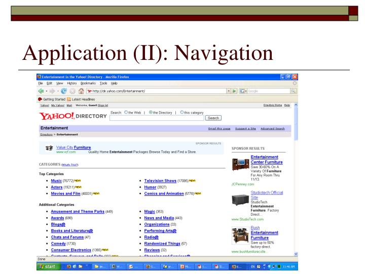 Application (II): Navigation