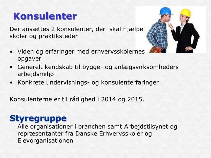 Konsulenter