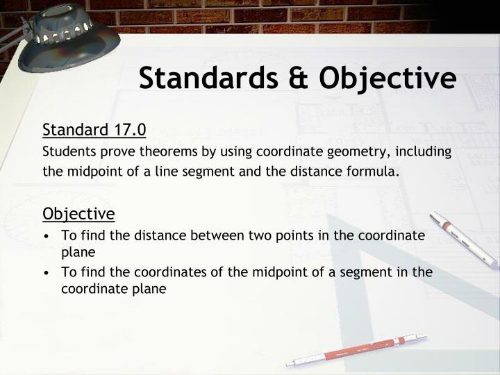 Standards & Objective