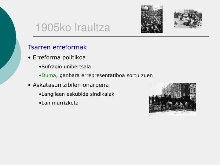 1905ko Iraultza