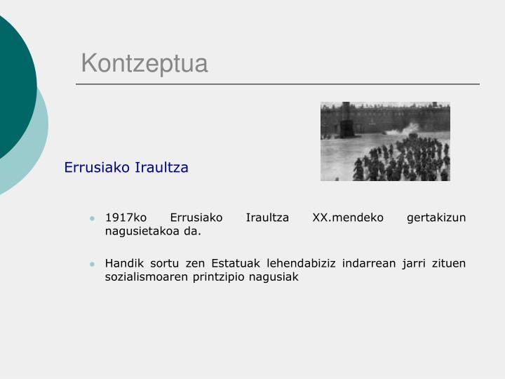 Kontzeptua