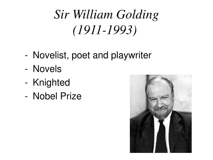Sir William Golding