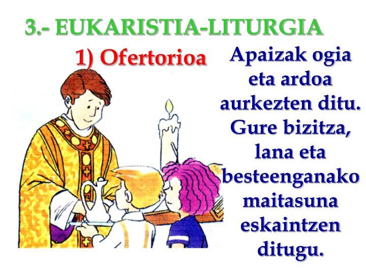 1) Ofertorioa