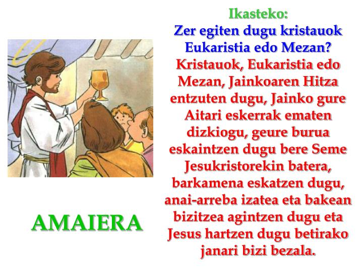 Ikasteko: