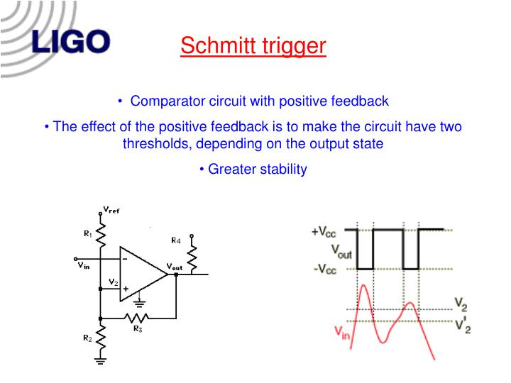 Schmitt trigger