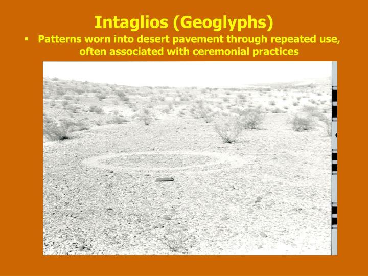 Intaglios (Geoglyphs)