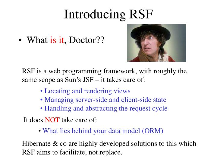 Introducing rsf1