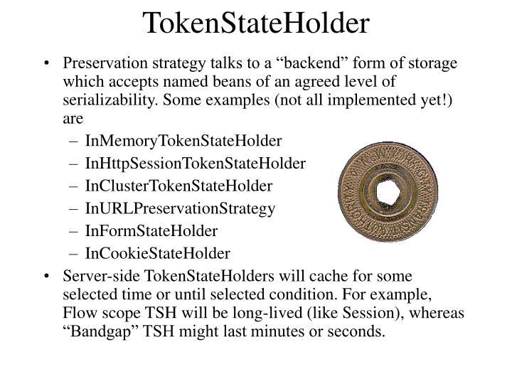 TokenStateHolder