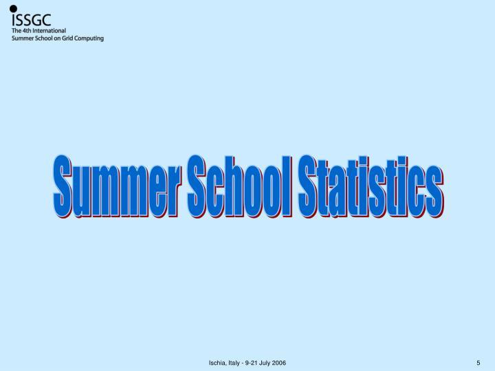 Summer School Statistics