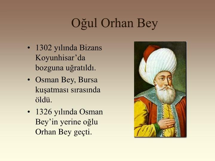 Oğul Orhan Bey